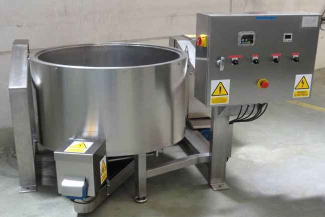 Centrifuges for fried products 1
