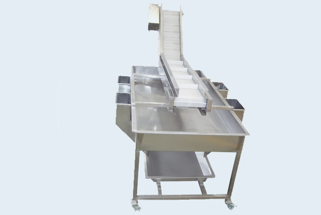 Auxiliary machines for processing potatoes 5