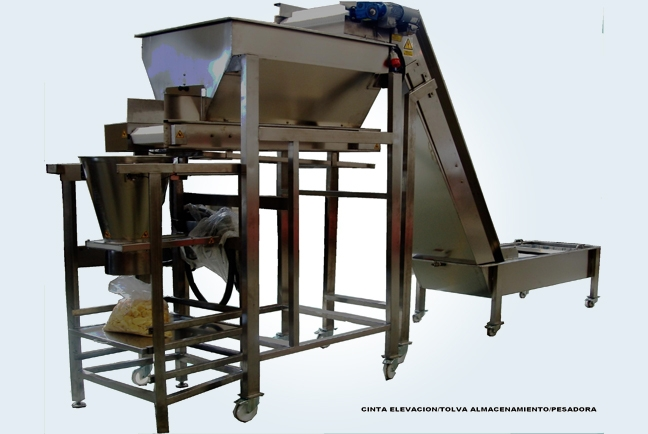 Auxiliary machines for processing potatoes 8