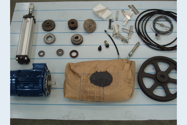 Spare parts for all machinery