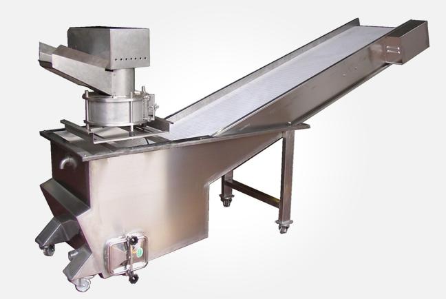 Loading belt for fryers
