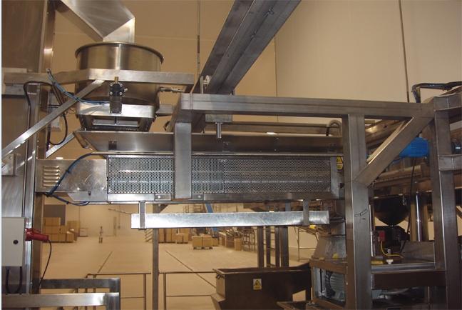 Otras maquinas auxiliares del procesado de la patata 1