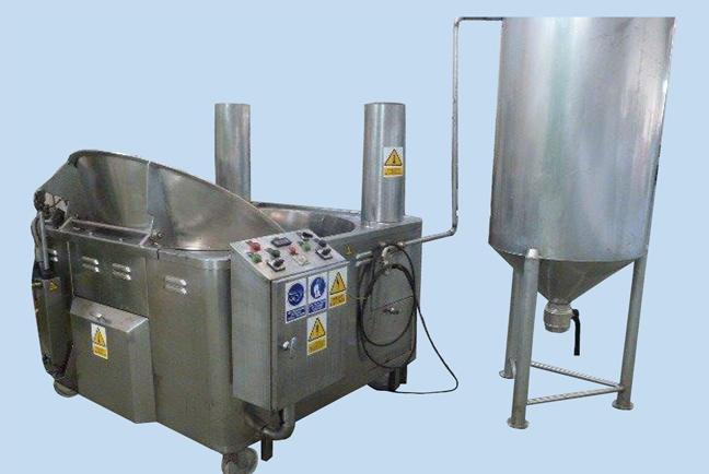 Freidoras industriales artesanales automatizadas 3
