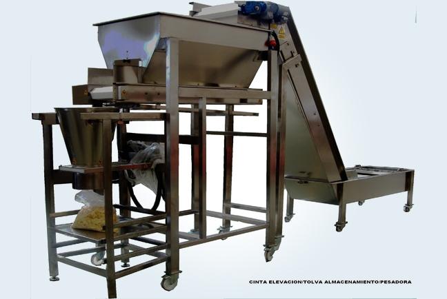 Otras maquinas auxiliares del procesado de la patata 8