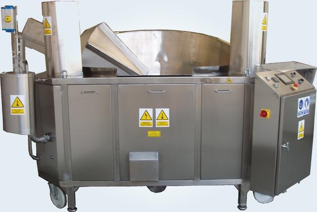 Freidoras industriales artesanales automatizadas 6