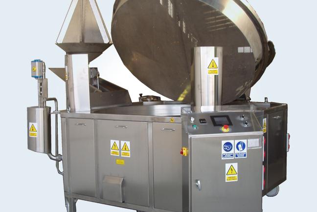 Freidoras industriales artesanales automatizadas