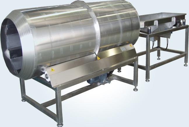 Otras maquinas auxiliares del procesado de la patata